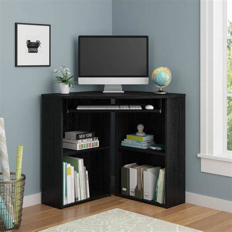 space saving wooden corner desk furniture  large space