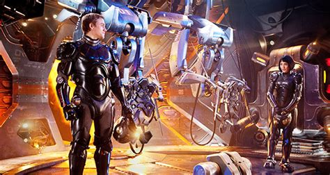 film robot fight pacific rim is it more than just robots fighting aliens
