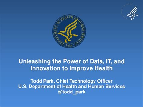 Mba Innovation And Data Analysis by Health Innovation Presentation T Park 102011