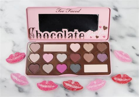 Faced Chocolate faced chocolate bon bons eye shadow palette review