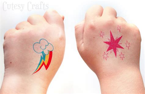 my little pony cutie mark tattoos 31 outrageously adorable my pony ideas