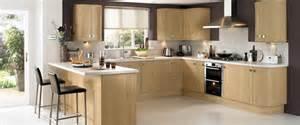 Oak Effect Kitchen Cabinets Howdens Kitchen Burford Light Oak