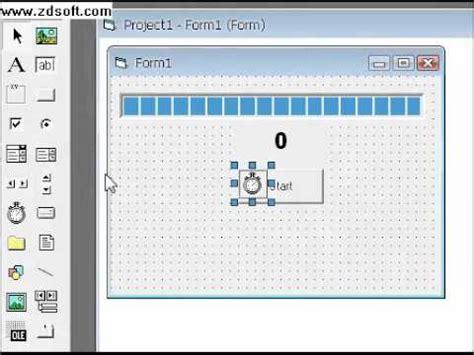 tutorial video visual basic 6 0 progressbar tutorial in visual basic 6 0 youtube