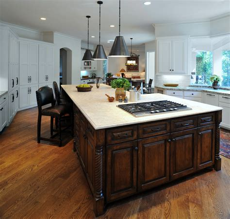 kitchen islands with cooktops kitchen island with cooktop kitchen contemporary with bar