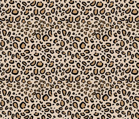 leopard spots animal print jungle brown fleece fabric leopard print tan natural animal cheetah safari print
