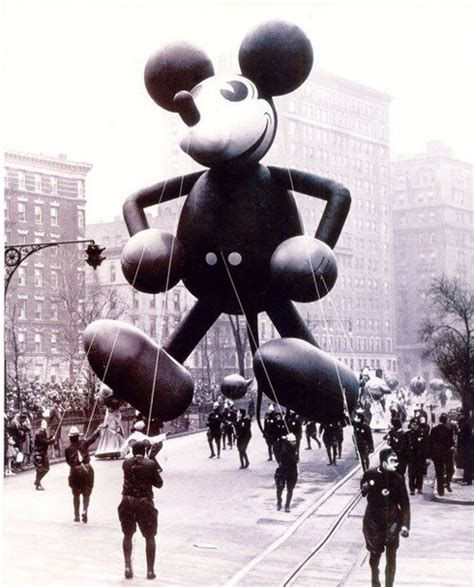 First ever mickey mouse float 1934
