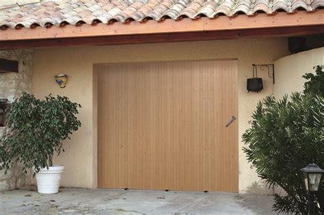 porte de garage coulissante bois obasinc