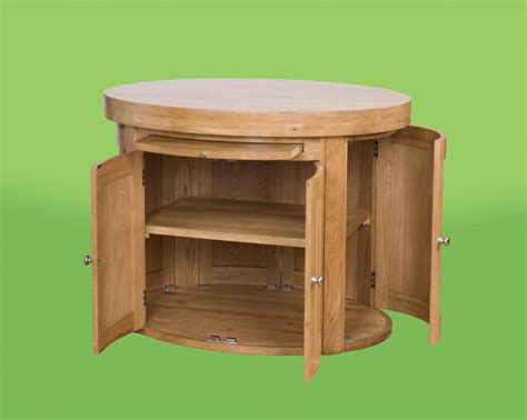 Kitchen Island Free Standing by Round Free Standing Kitchen Island With Brilliant Cabinet