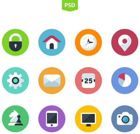 flat design icon vector 23 best high quality free flat icon sets creatives wall