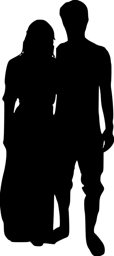 15 Couple Silhouette (PNG Transparent) | OnlyGFX.com