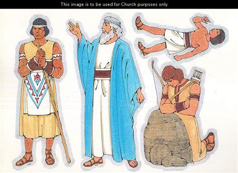 mormon a valiant prophet friend primary visual aids cutouts 6 20 lamanite man 6 21