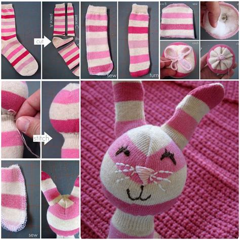 sock bunny directions lovepetsdiy diy and ideas for your pets