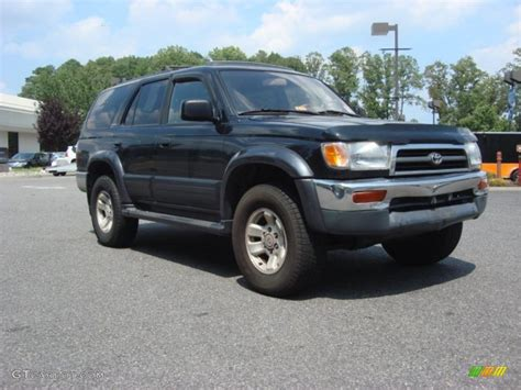 1998 Toyota 4runner Limited Specs 1998 Black Toyota 4runner Limited 4x4 68282954 Gtcarlot