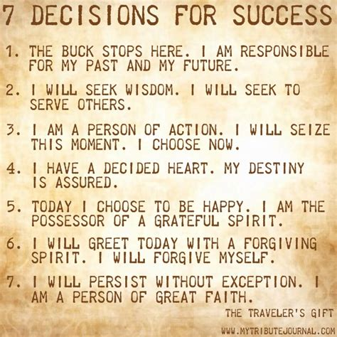 the seven decisions andy andrews quotes quotesgram