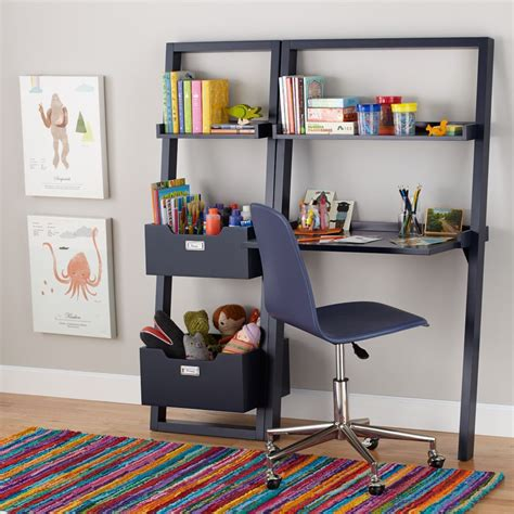 little sloane leaning desk kids desks study the land of nod