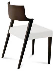Leather Dining Chairs Modern Lirica Dining Chair White Leather Set Of 2 Modern Dining Chairs By Inmod