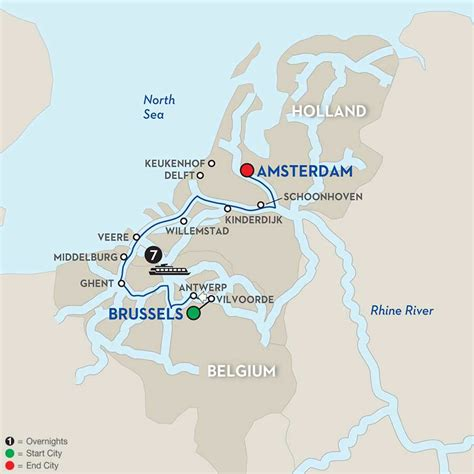 netherlands brewery map river cruises 8 day brussels to amsterdam cruise
