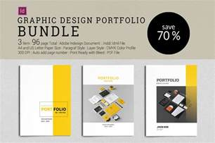 graphic design pdf portfolio templates bundle graphic design portfolio brochure templates
