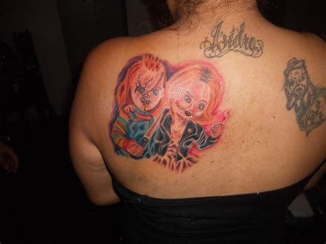 tiffany tattoo designs chucky tattoos