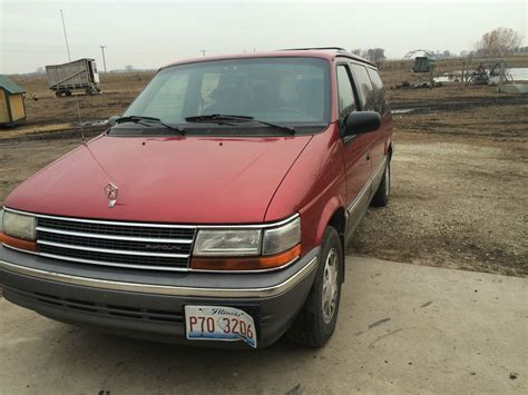 1993 plymouth voyager 1993 plymouth voyager le mini passenger 3 door 3 3l
