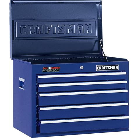 craftsman 5 drawer tool box kmart craftsman 26 quot wide 5 drawer ball bearing griplatch 174 top