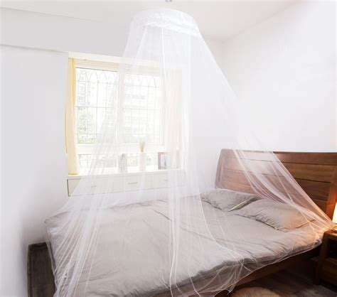 net bed mosquito netting for beds structure is added to a