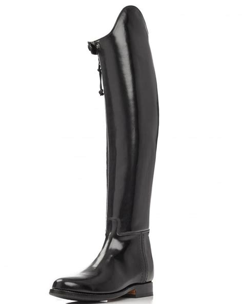 mens leather riding boots mux leather elegant dressage horse riding boot with side