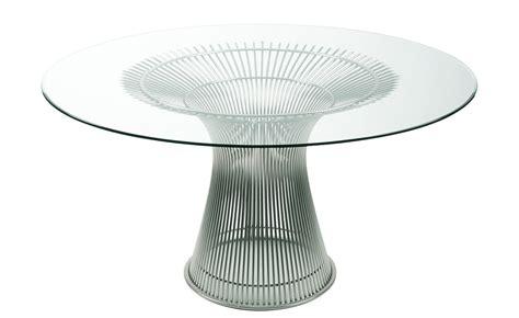 Platner Nickel Dining Table Hivemodern Com