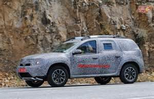 Renault Duster 7 Seater 7 Seater Renault Duster Spotted For The Time