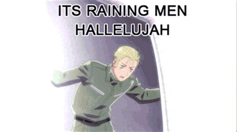 Its Raining Make Me A Supermodels Boys by Hetalia Gifs For Your Convenience