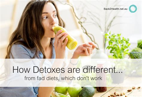Fad Detox Diets by How Detoxes Are Different From Fad Diets Which Don T Work