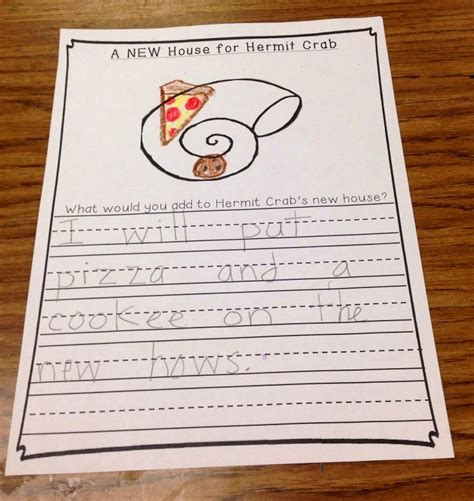 A House For Hermit Crab Lesson Plans Pin By Esther Ross Kempton On Crafts And Educational Tools