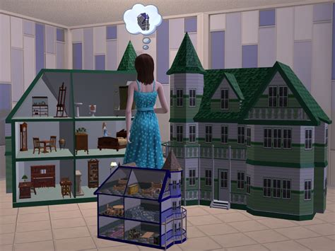 tiny doll house mod the sims tiny treasures doll house
