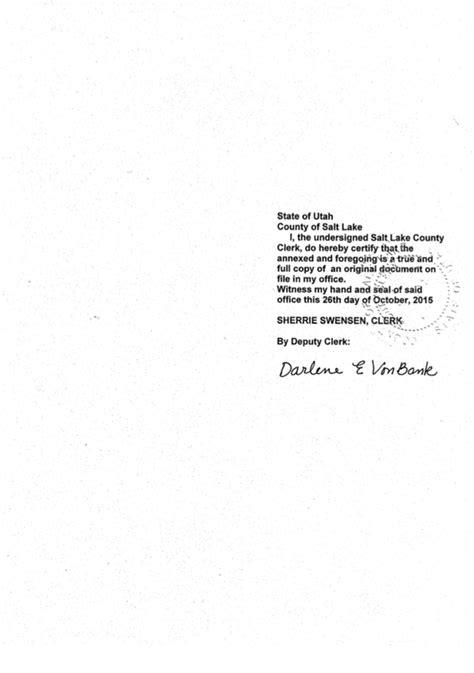 Salt Lake County Marriage Records State Of Utah Apostille Apostille Service Apostille Net