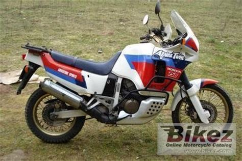 1991 Honda XRV 750 Africa Twin specifications and pictures