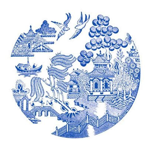 willow pattern image blue willow patterns 171 free patterns