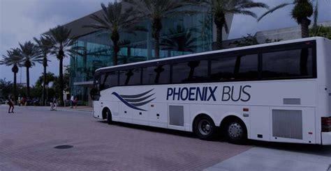 comfort bus rental phoenix bus charter bus orlando bus rental