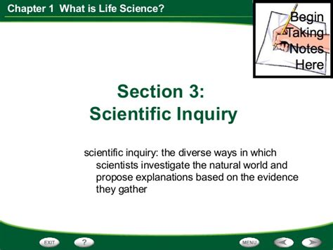 chapter 13 section 1 changing ways of life chapter 1 section 3 think like a scientist