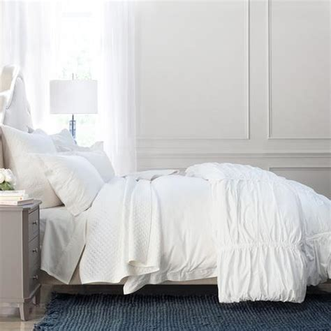 Soft Quilts Bedding White Quilt And Sham Cloud Soft White Crane Canopy