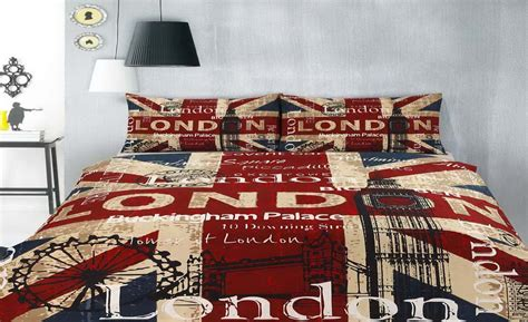 Is A Duvet Cover A Comforter London Bedding Set By Retro Home