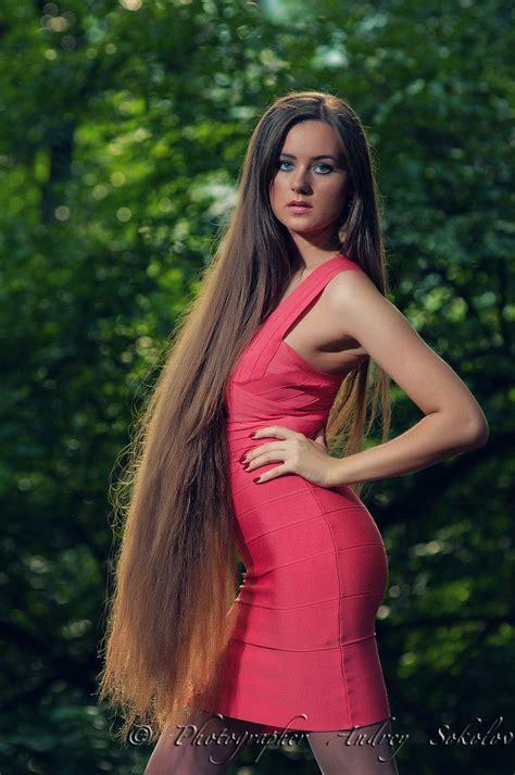 models with very long thick hair irina gorin looooooooong pinterest super long hair