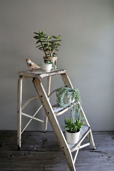 Ladder Shelf For Plants by 12 Lovely Plant Stands That Are To Display Your