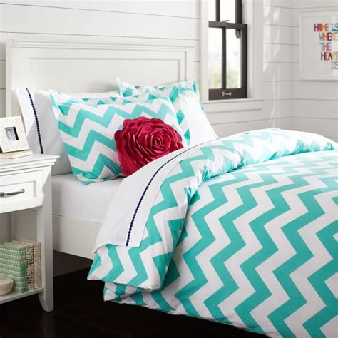 What Is A Sham Bedding by Chevron Duvet Cover Sham Pool Pbteen