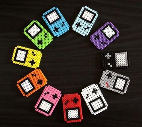 bead boys perler gameboy fridge magnets gadgetsin