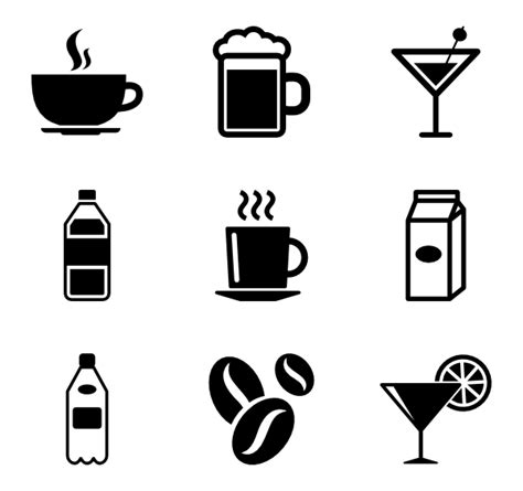 drink icon png cocktail icons 1 688 free vector icons