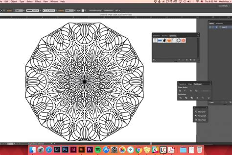 line pattern download illustrator how to easily create mandalas in adobe illustrator