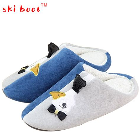 cute house shoes for women plush funny adult slippers winter shoes woman cartoon warm homen slippers women cute