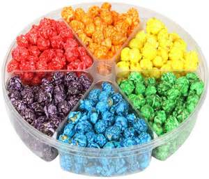 6 section candy coated popcorn sampler tray gourmet candy coated popcorn bulk candy oh nuts 174