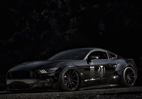 ford mustang modified black ford mustang s550 gt modified modifiedx
