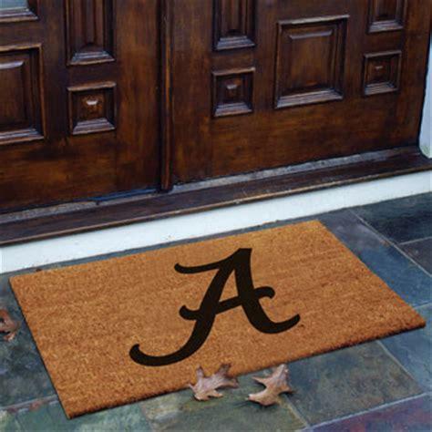 Alabama Door Mat - alabama crimson tide ncaa college rectangular outdoor